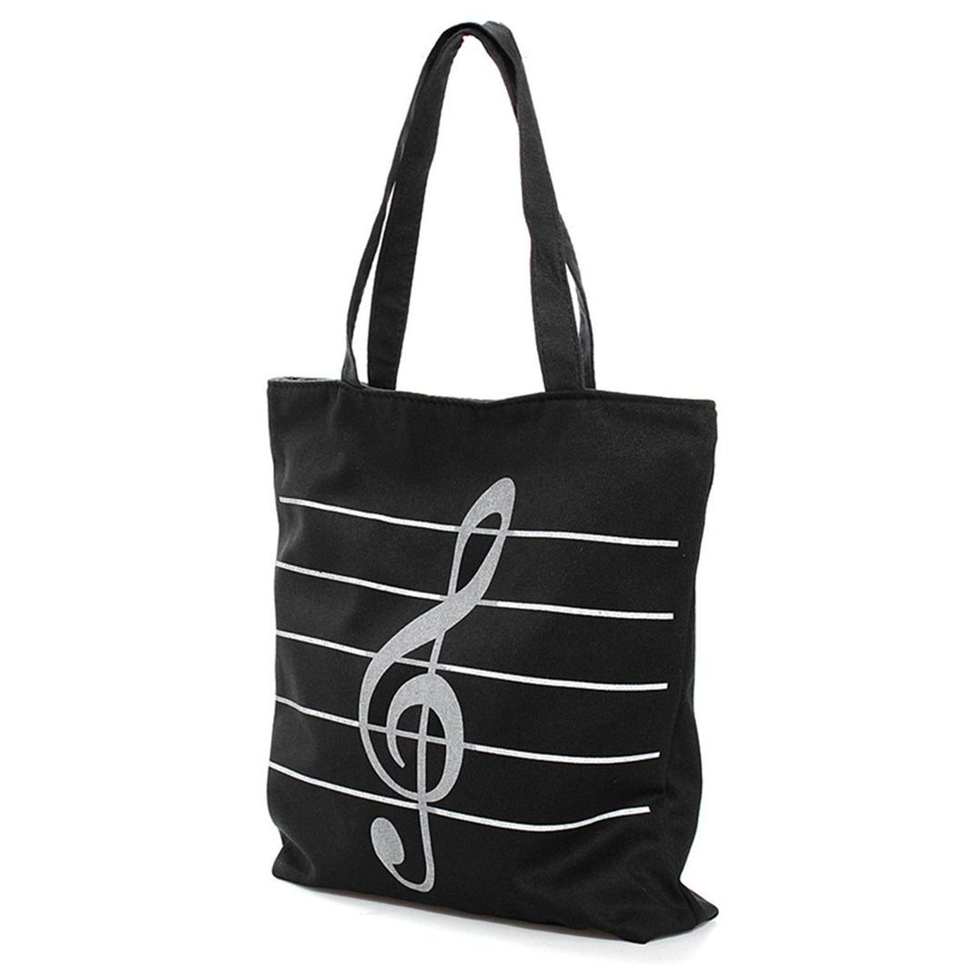 Canvas Music Tote