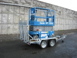 Scissor Lift Trailer (Small)-Total Hire
