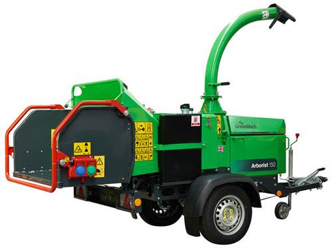 "Diesel 6"" Chipper-Total Hire"
