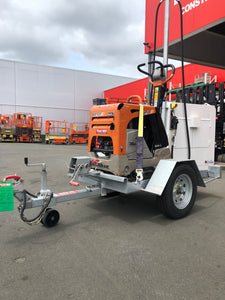 Trailer to suit 450KG Reversible Plate Compactor
