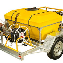 Trailerised Water Blaster 500 ltr-Total Hire