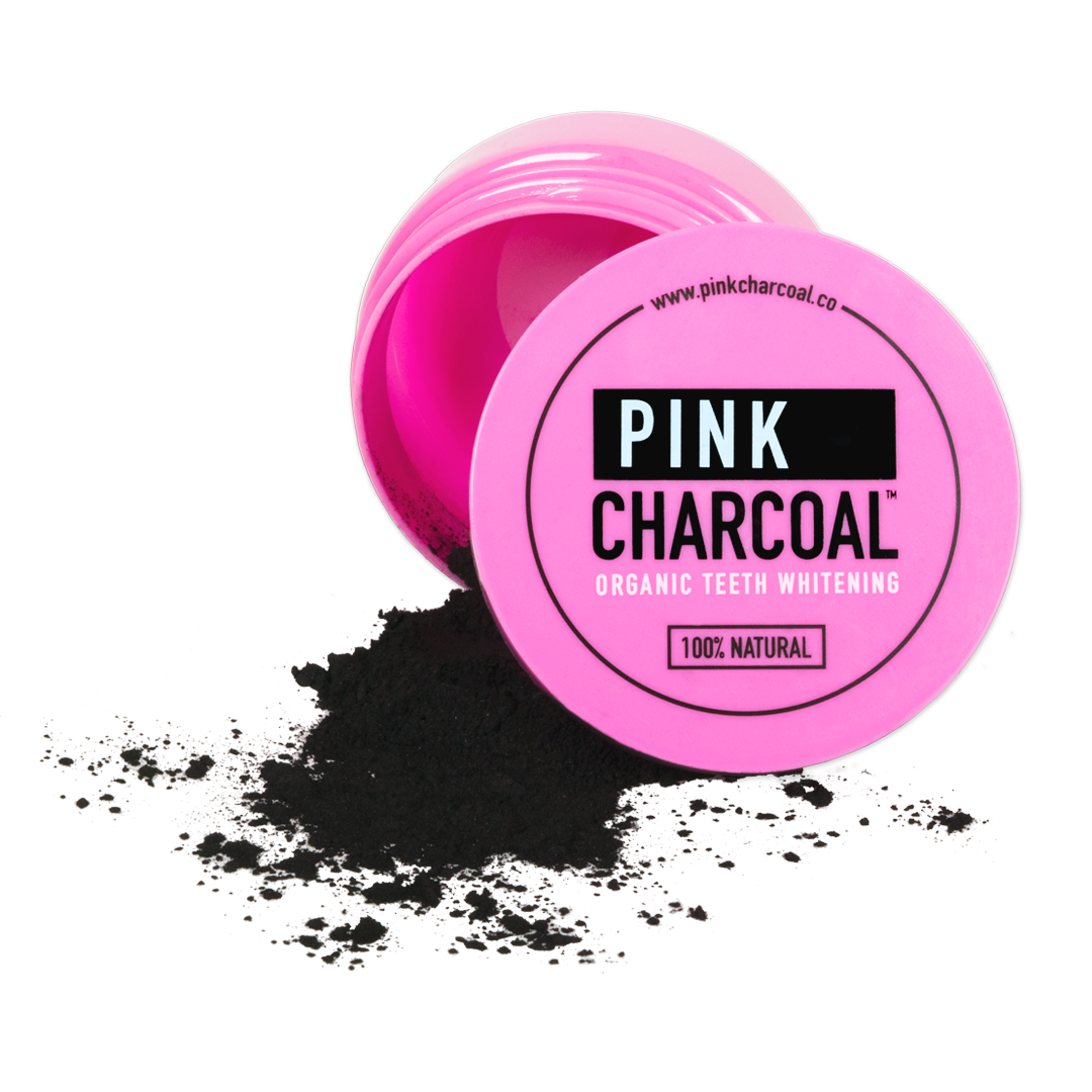 Organic Charcoal Teeth Whitening Powder
