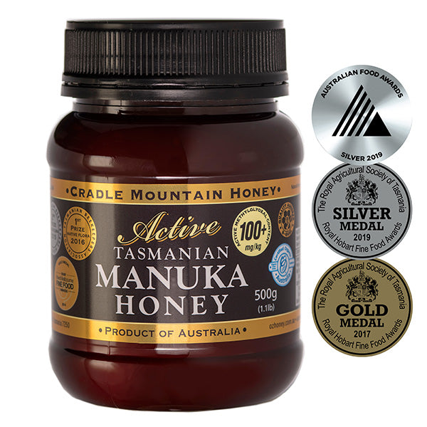 Manuka honey, 100+, Cradle Mountain, 500gms