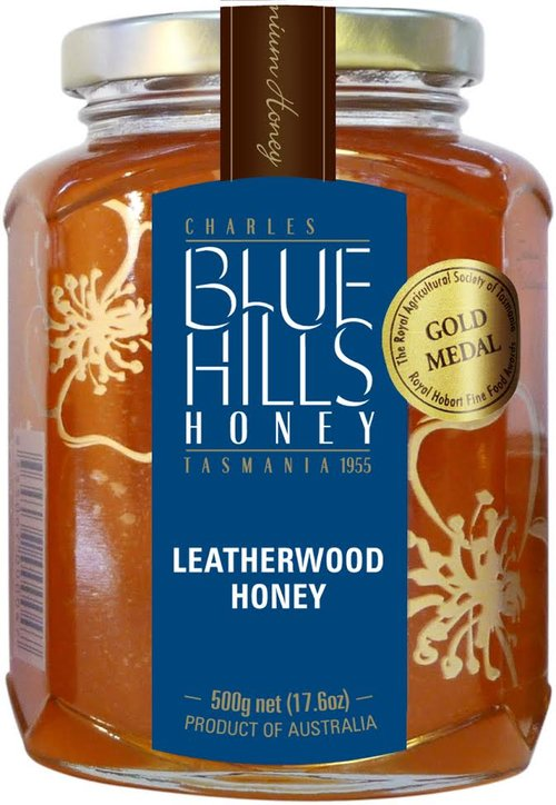 Leatherwood honey, Blue Hills, 500gms