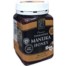 Manuka honey (250+), Blue Hills, Tasmanian, 250gms