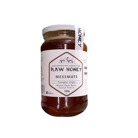 raw messmate honey
