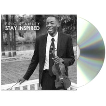 Stay Inspired Album - Autographed CD