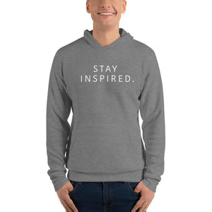Stay Inspired Hoodie Gray