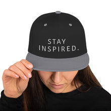 Load image into Gallery viewer, Stay Inspired Snapback Hat