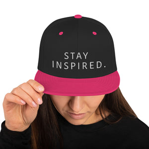 Stay Inspired Snapback Hat