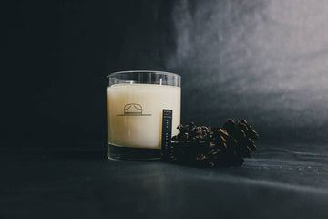 LEATHER & PINE CANDLE