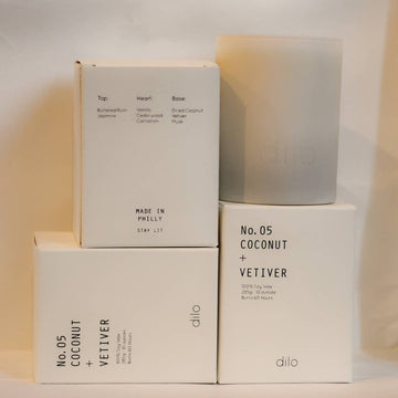SHADES COLLECTION: COCONUT + VETIVER