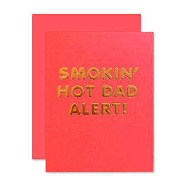 HOT DAD ALERT CARD