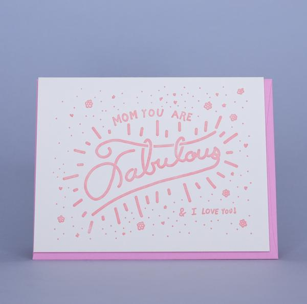 FABULOUS MOM CARD