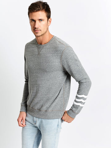 WAVES PULLOVER - HEATHER GRAY