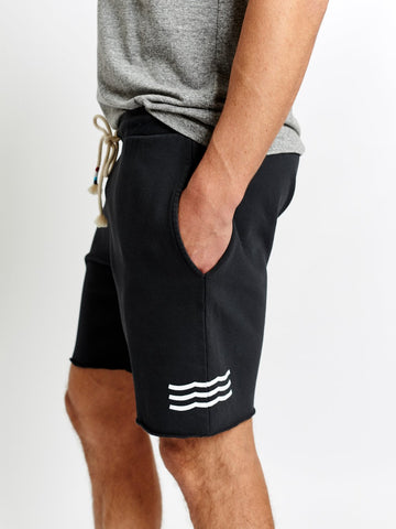 WAVES SHORT - BLACK