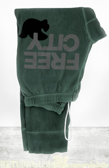FREECITYLARGE 3/4 SWEATPANT - BUSH