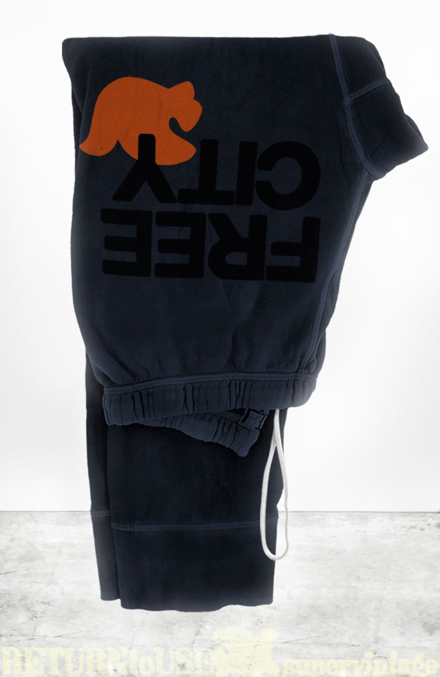 FREECITYLARGE 3/4 SWEATPANT - DEEPSPACE