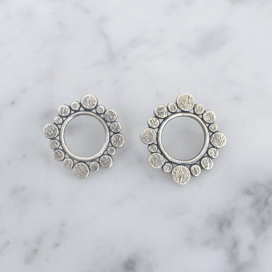 FIONA STUDS - SILVER