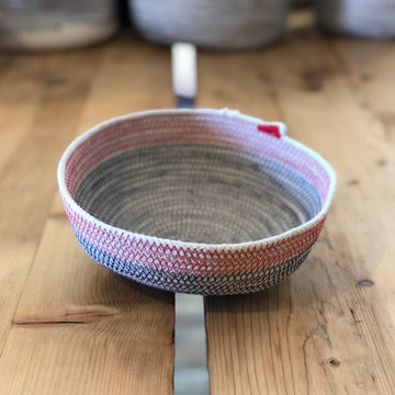 SMALL BOWL BASKET - MULTIPLE COLORS
