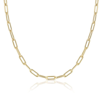 HEAVY RECTANGLE NECKLACE