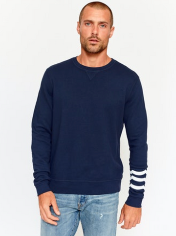WAVES PULLOVER - INDIGO