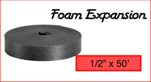 "Foam Expansion 1/2"" x 50'"