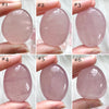 Star Rose Quartz Palm Stones (Small #1-10)
