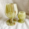 Banded Onyx Red Wine Glass GWG10