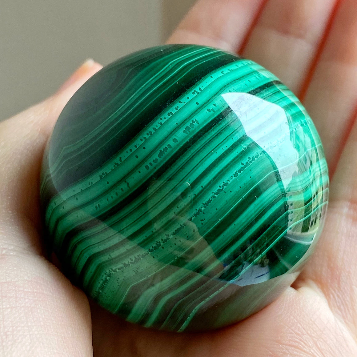 Malachite Polished Sphere MAL02