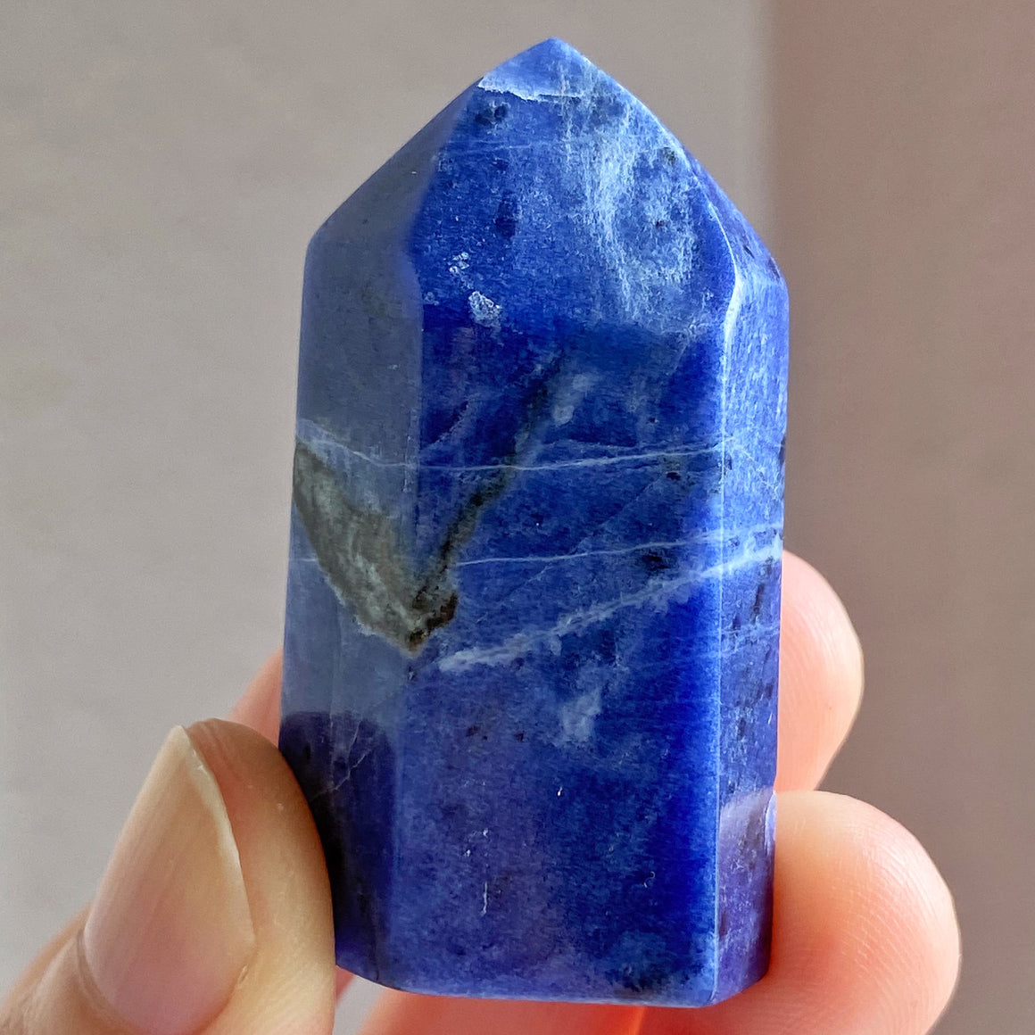 Sodalite Polished Point ST022