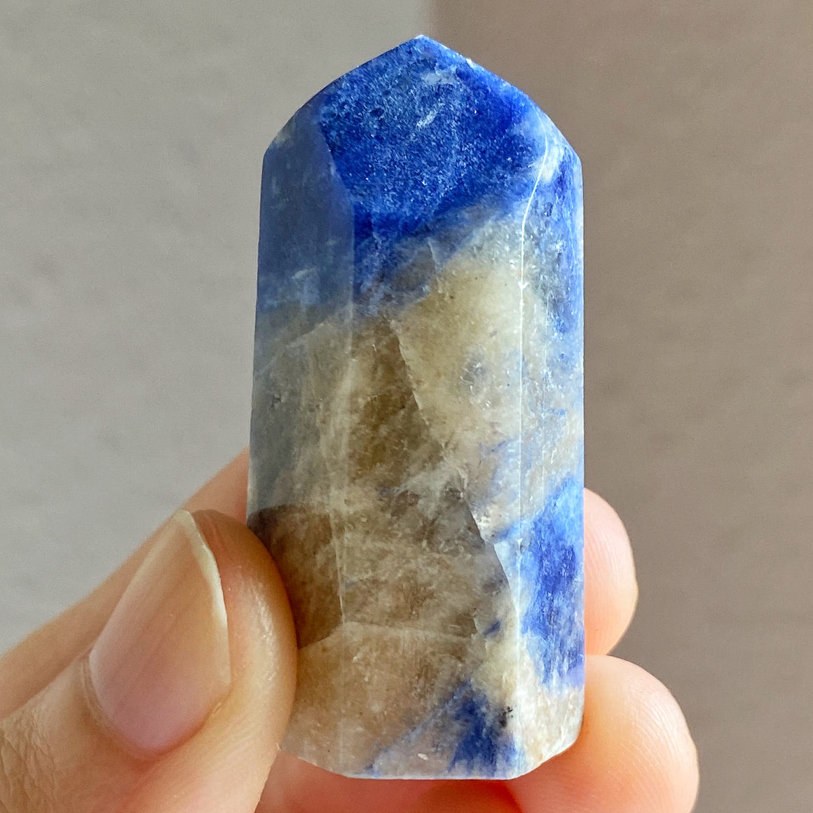 Sodalite Polished Point ST027
