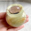 Green Banded Onyx Mini Pot BOP08