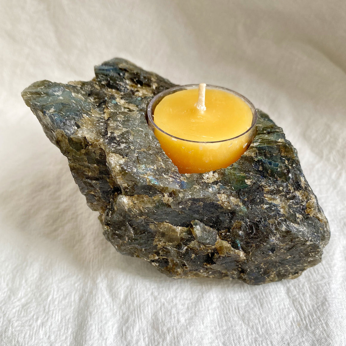 Labradorite Tealight Candle Holder LBH04