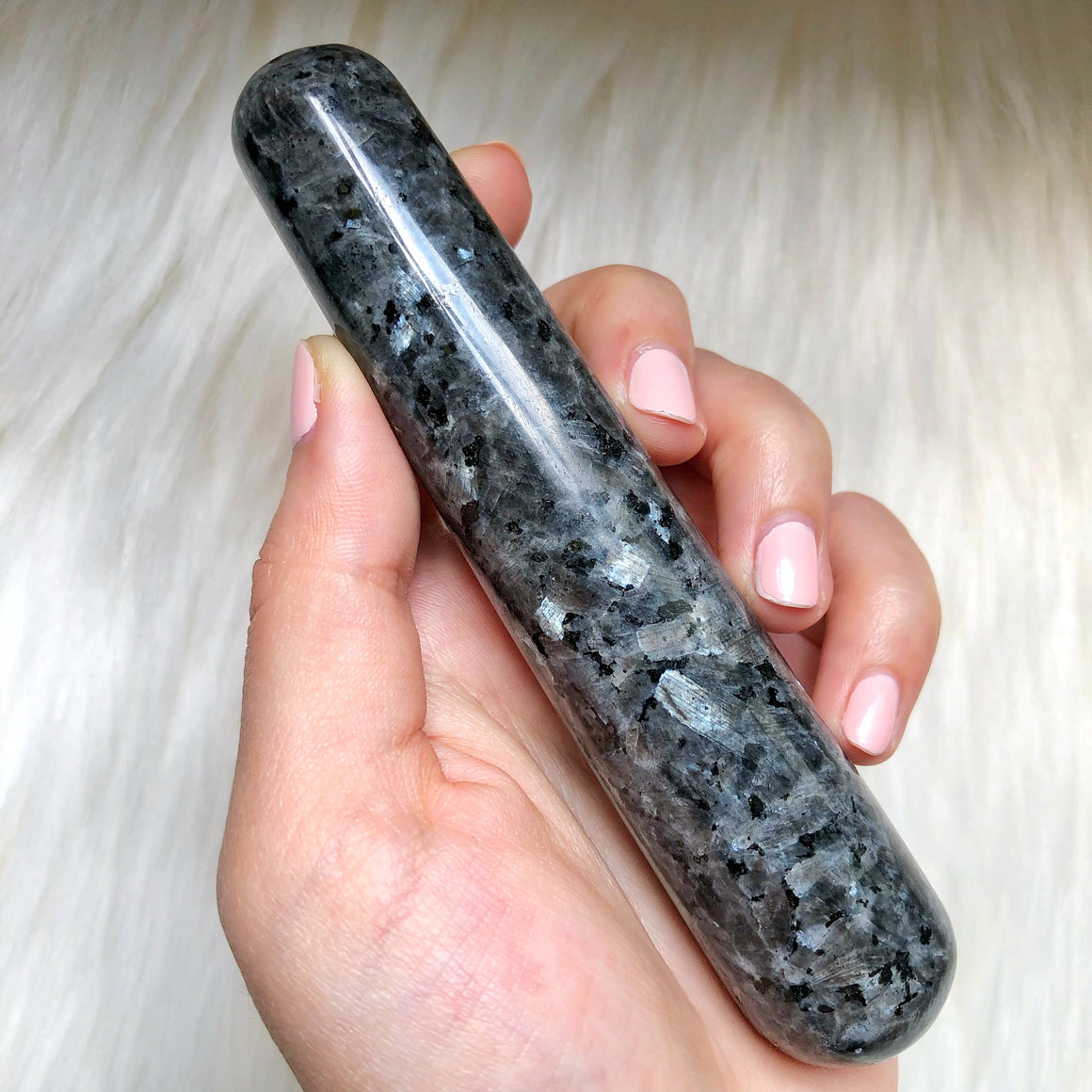 Larvikite Massage Wand #4