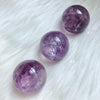 Amethyst Spheres (30mm)