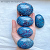 Ruby in Kyanite Palm Stones