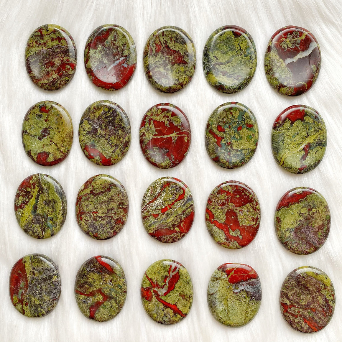 Dragon Blood Worry Stones