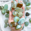 Blue Andean Opal Tumbled Stones