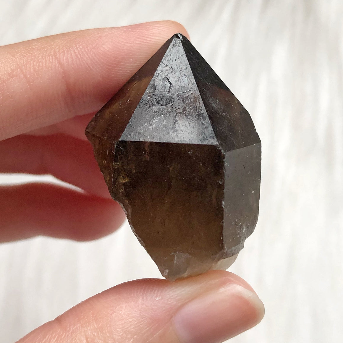 Natural Congo Citrine Point #M64