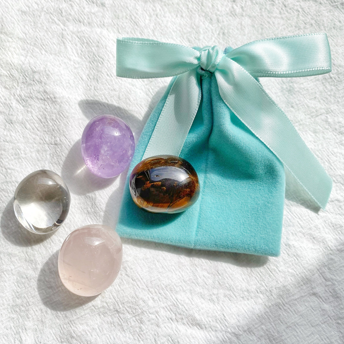 Starter Kit Tumbled Crystal Bag