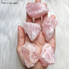 Natural Rose Quartz Raw Clusters