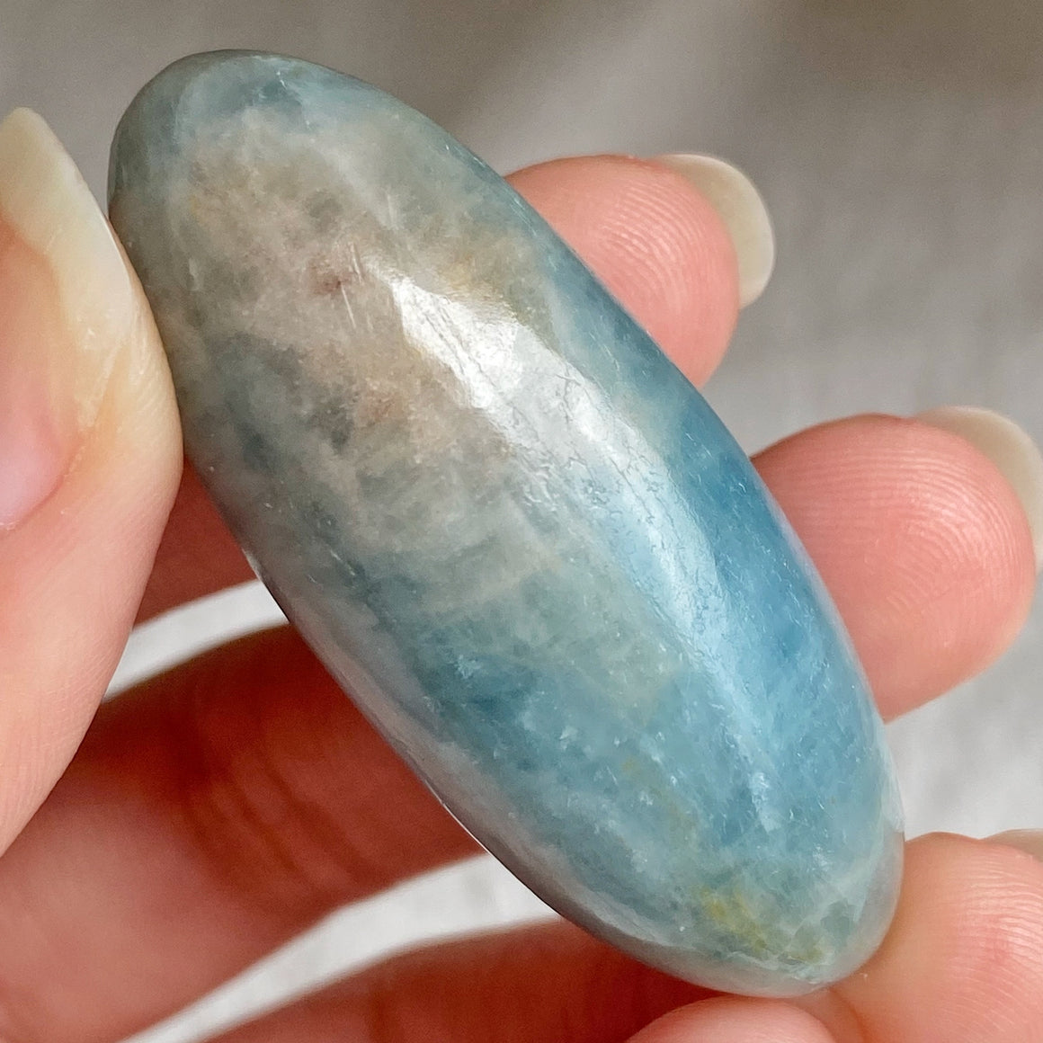 Aquamarine Polished Shiva AQS24