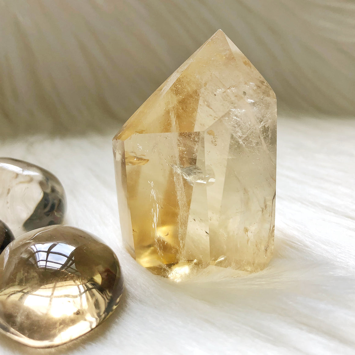 Natural Citrine Point #5