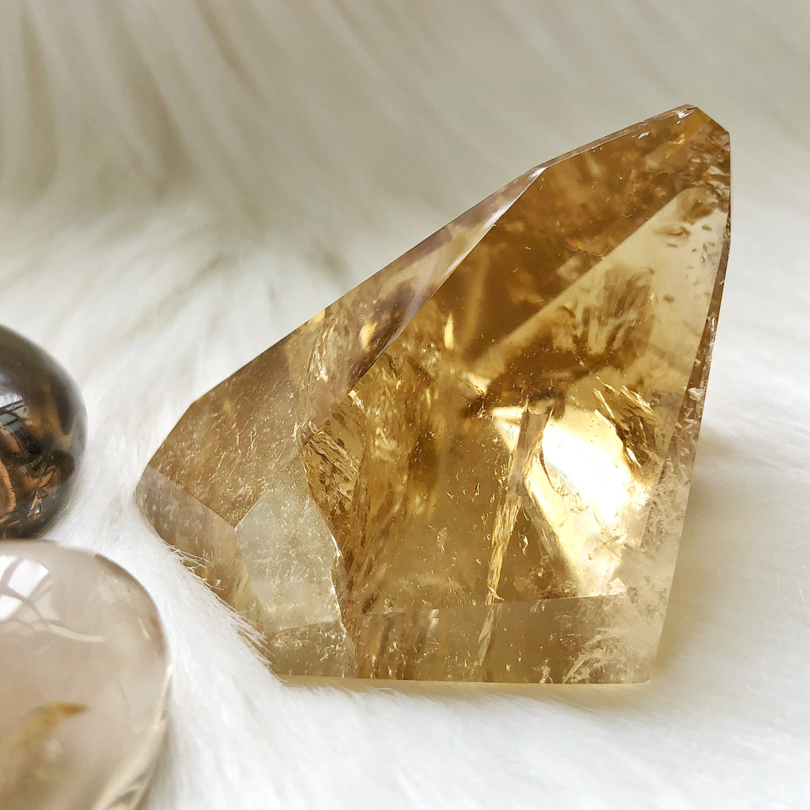 Natural Citrine Point #10