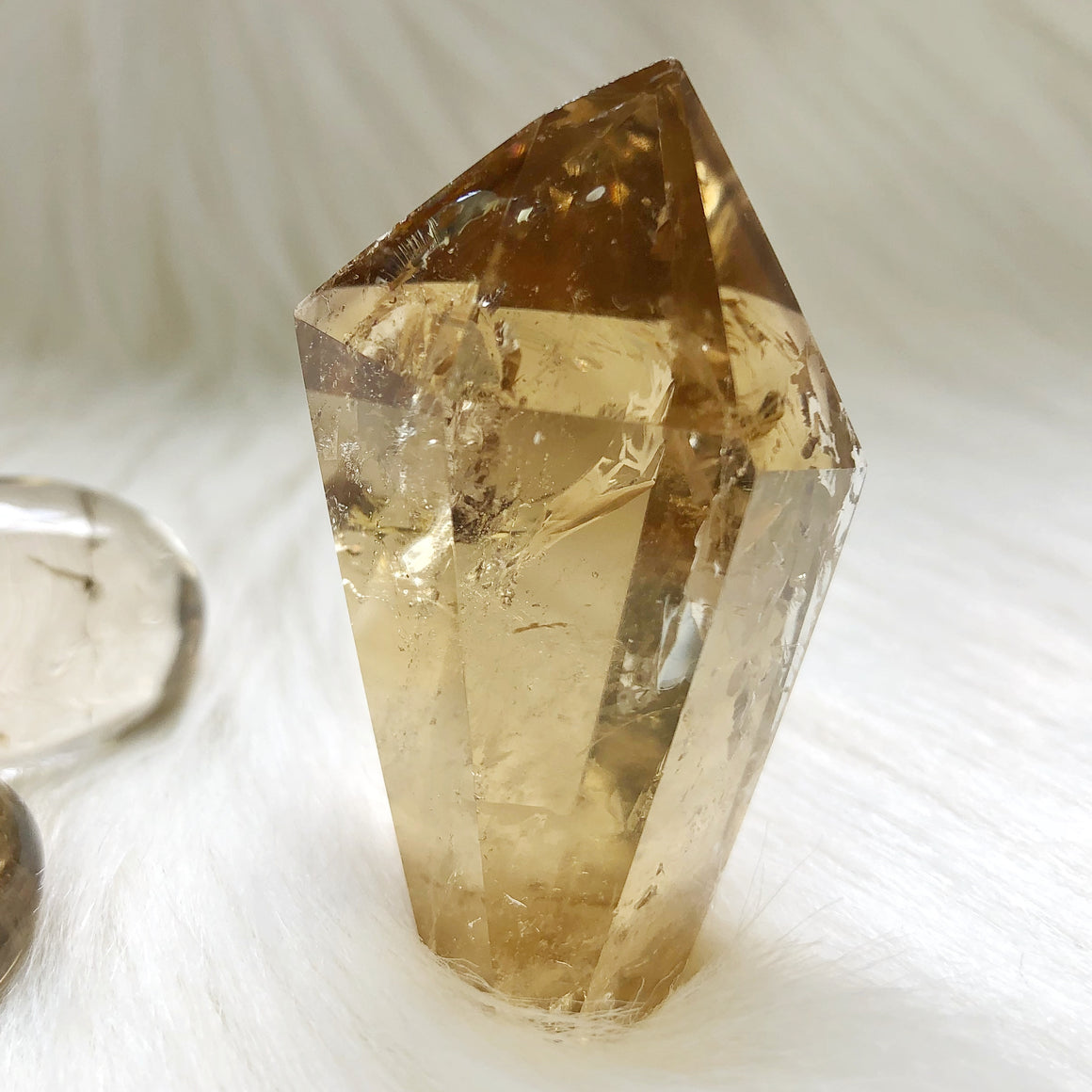 Natural Citrine Point #13