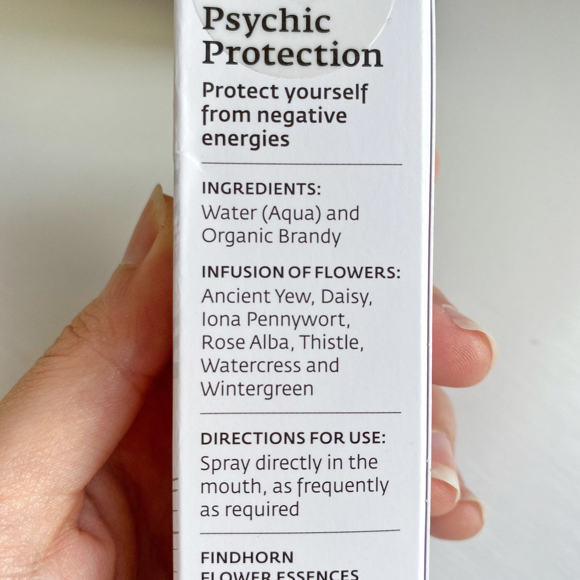 Psychic Protection Oral Spray 25ml