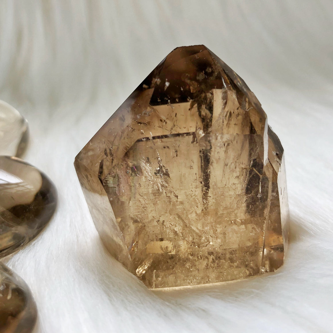 Natural Citrine Point #35