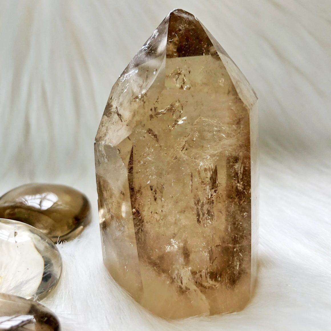 Natural Citrine Point #36