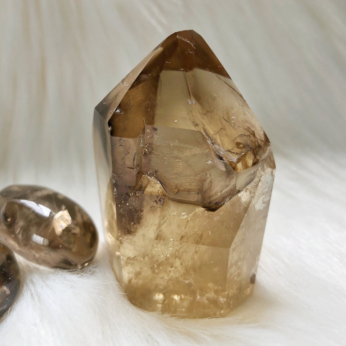 Natural Citrine Point #47
